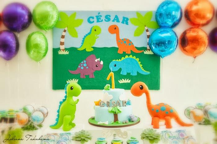 Dinosaur Birthday Party Ideas All In Fun